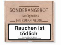 Diverse Zigarren Sonderangebot 50% Cuban (Mini) (Packung á 50 Stück)