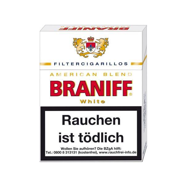 Villiger Zigarillos Braniff White (8x23 Stück) 3,60 €   28,80 €