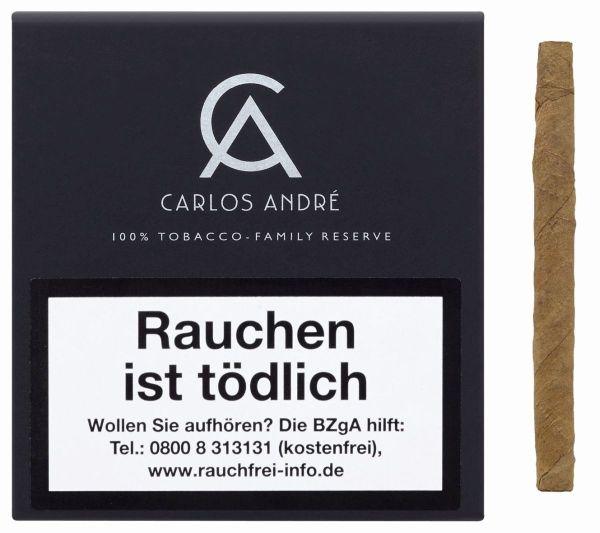 Carlos Andre Zigarren Cigarillos 100% Tobacco (Schachtel á 20 Stück)