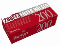 Burton Zigarettenhülsen (5 x 200 Stück)