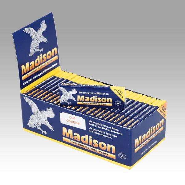 Madison Cut Corner Drehpapier (50 x 50 Stück)