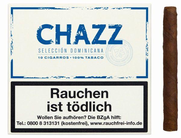 CHAZZ Zigarillos Cigarillos (Schachtel á 10 Stück)