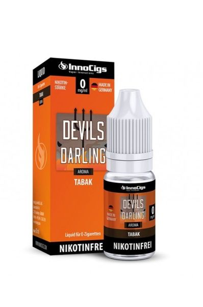 InnoCigs E-Zigaretten Liquid Devils Darling Tabak Aroma 0mg Nikotin/ml