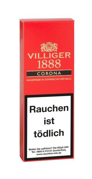 Villiger Zigarren 1888 Corona (Schachtel á 3 Stück)