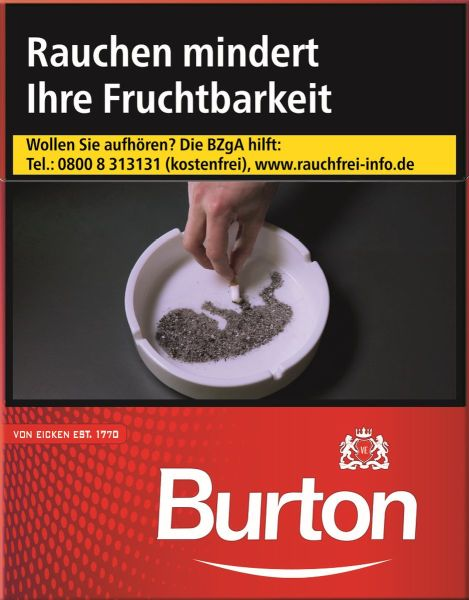 Burton Zigaretten Original XL-Box (8x24er)