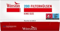 Winston Zigarettenhülsen (5 x 200 Stück)