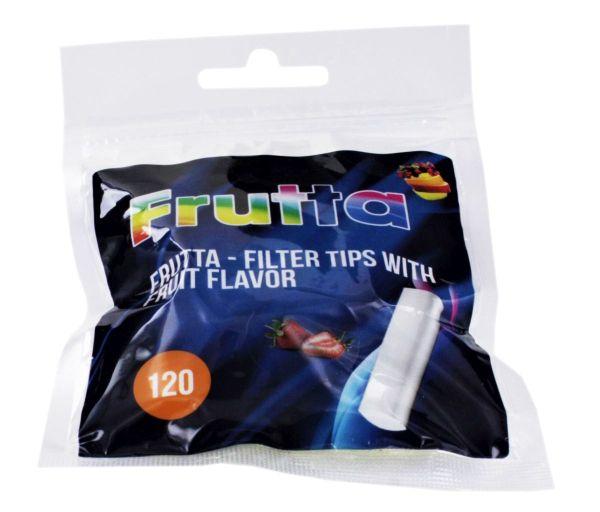 Frutta Strawberry Flavour Slim Filter Tips 120er (Beutel á 120 Stück)