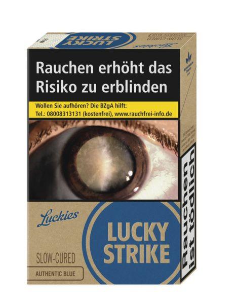 Lucky Strike Zigaretten Authentic Blue 7,20€ (XL) (10x20er)