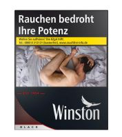 Winston Zigaretten Black XXXXL-Box (8x35er)