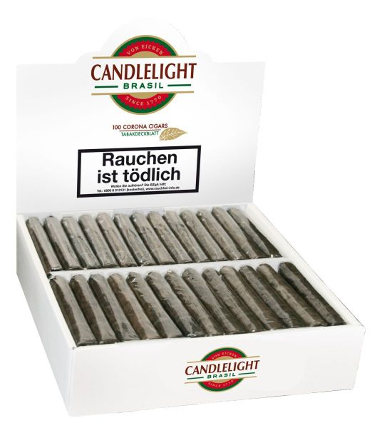 Candlelight Zigarren Candlellight Corona Brasil (Packung á 100 Stück)