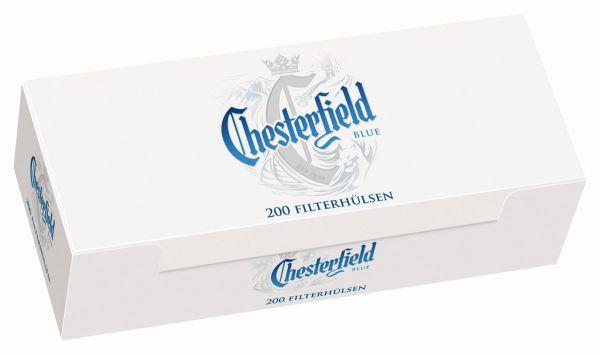 Chesterfield Blue King Size Zigarettenhülsen (5 x 200 Stück)