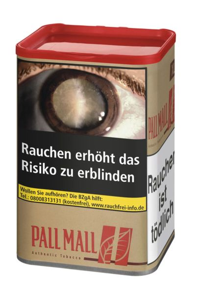 Pall Mall Volumentabak Authentic Red XL (Dose á 60 gr.)