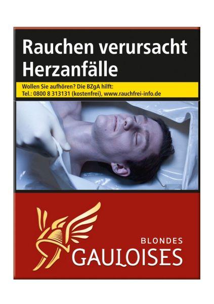 Gauloises Zigaretten Automat Automatenp. Blondes Rot 9€ (8x29er)