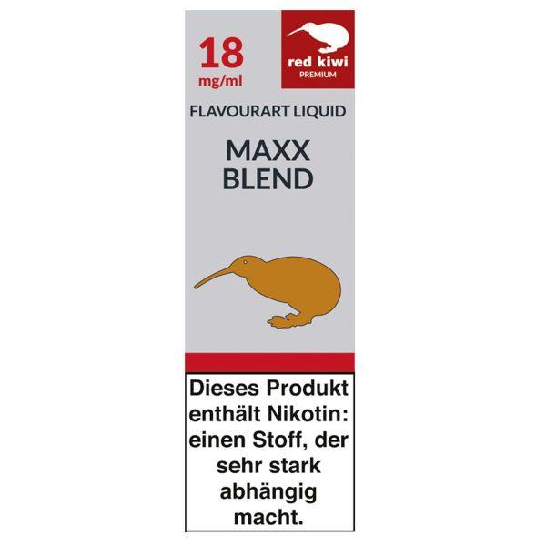 Red Kiwi eLiquid Maxx Blend 18mg Nikotin/ml (10 ml)