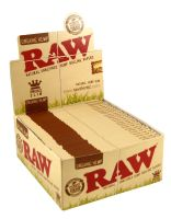 RAW Organic Hemp King Size Papier Slim (50 x 32 Stück)