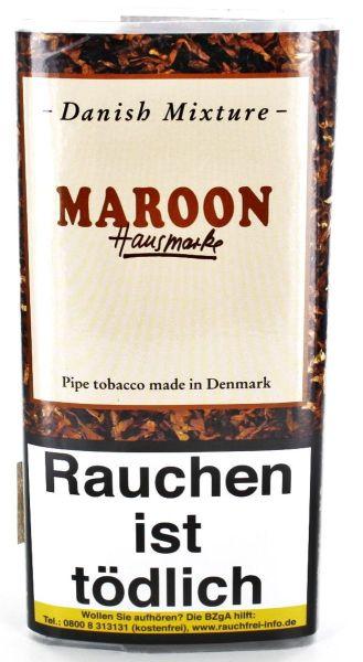 Danish Mixture Pfeifentabak Maroon Hausmarke (Pouch á 50 gr.)