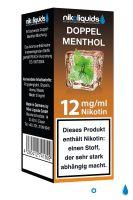 NikoLiquids Doppel Menthol eLiquid 12mg Nikotin/ml (10 ml)