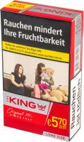 The King Zigaretten King Red 100's Long Size (8x22er)