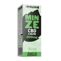 NikoLiquids CBD Mint E-Zigaretten Liquid 300mg/ml