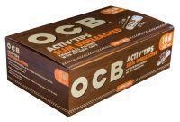 OCB Unbleached Activ Zigarettenfilter Tips Slim 7mm 9930