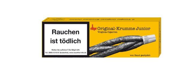Villiger Zigarren Original-Krumme Junior (Schachtel á 6 Stück)