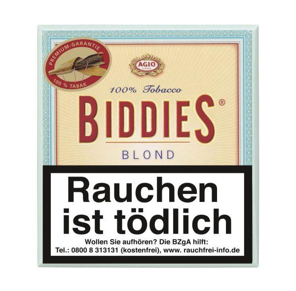 Biddies Zigarillos Agio Blond 100% (Schachtel á 20 Stück)