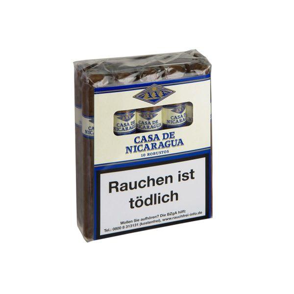 Villiger Zigarren Casa de Nicaragua Robusto (Schachtel á 10 Stück)