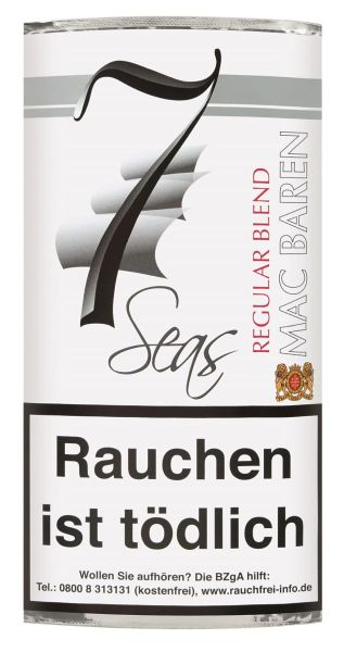 7 Seas Pfeifentabak Regular Blend (Pouch á 40 gr.)