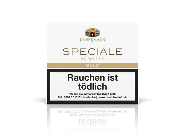 Dannemann Zigarillos Speciale Gold Sumatra (Schachtel á 20 Stück)