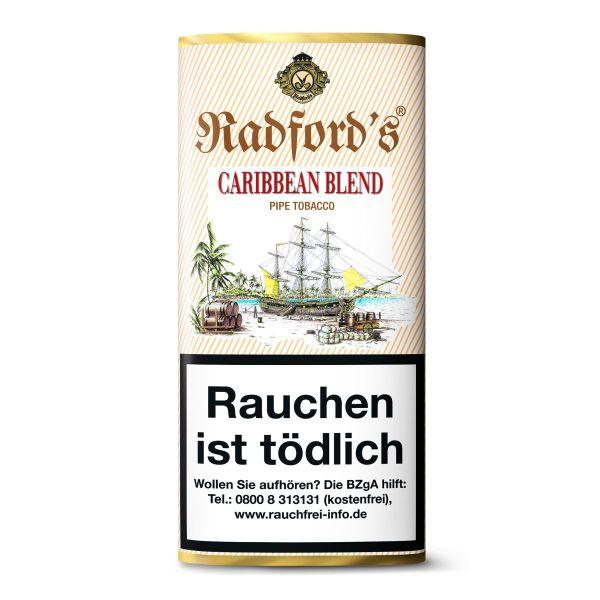 Radford Pfeifentabak 's Caribbean Blend (Pouch á 50 gr.)