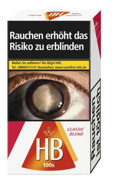 HB Zigaretten Classic Blend 100 (10x20er)