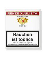Romeo Zigarillos & Julieta Mini Cigarillos (Schachtel á 20 Stück)