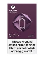 Vuse ePod Caps Dark Cherry Nic Salts 18mg Nikotin 1,9ml (2 Stück)
