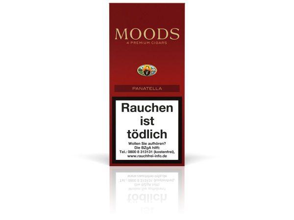 Moods Zigarren Panatella (Schachtel á 4 Stück)