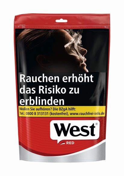 West Volumentabak Red Volume Tobacco (Beutel á 105 gr.)