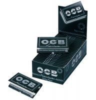 OCB schwarz Premium kurz Zigarettenpapier No. 4 (25 x 1 Stück)