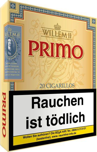 Scandinavian Zigarillos Willem II Primo Sumatra (Schachtel á 20 Stück)