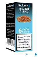 Virginia Blend eLiquid 6mg Nikotin/ml (10 ml)