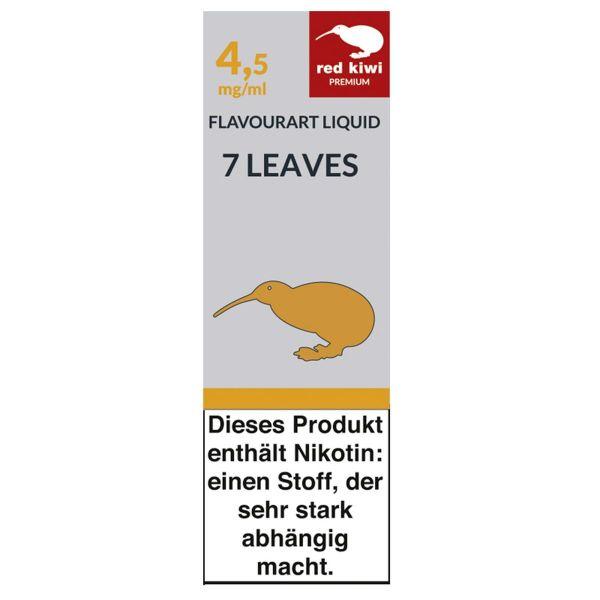 Red Kiwi eLiquid 7 Leaves 4,5mg Nikotin/ml (10 ml)