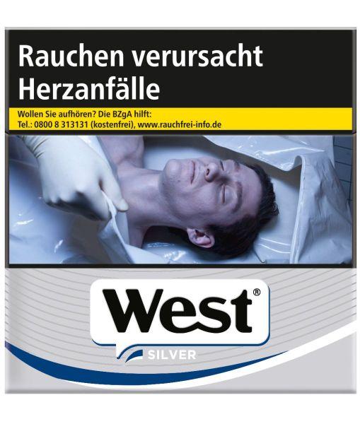 West Zigaretten Silver (6x49er)