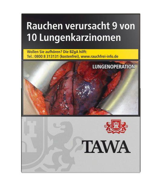 Tawa Zigaretten Silver XXL-Box (8x28er)