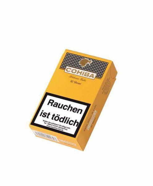 Cohiba Zigarren Short (Schachtel á 10 Stück)