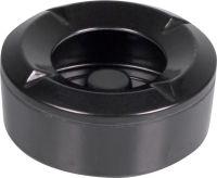 Windaschenbecher Kunststoff rund schwarz 10cm (1 Stück)