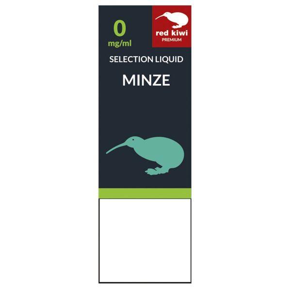 Red Kiwi eLiquid Selection Minze 0mg Nikotin/ml (10 ml)