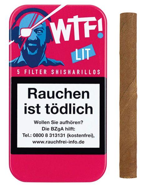 WTF! Zigarillos Shisharillo LIT (Schachtel á 5 Stück)