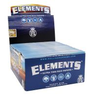 Elements King Size Slim Reispapier (50 x 32 Stück)