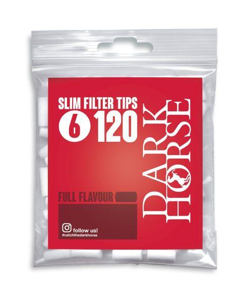 Dark Horse Full Flavor Slim Filter Tips 120er (34 x 120 Stück)