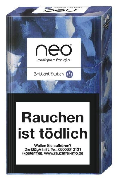 neo Zigaretten Brillant Switch (Click) 7g (10x20er)