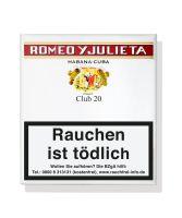 Romeo Zigarren & Julieta Club (Schachtel á 20 Stück)