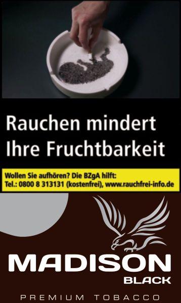 Madison Zigarettentabak Black (10x30 gr.) 4,10 € | 41,00 €